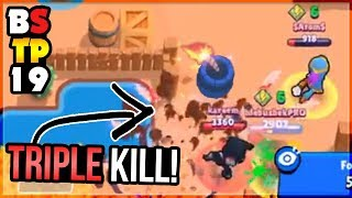 500 IQ Triple Kill! 4 Dyna Supers in a Row! Brawl Stars Top Play Review #19