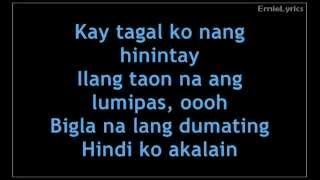 Julie Anne San Jose - Bakit Ngayon Lyrics (The Greatest Love Theme Song)