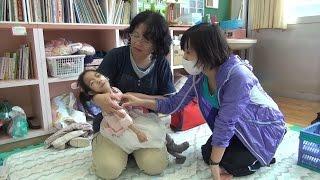 学校の「医療的ケア」を支える看護師 大分県立新生支援学校