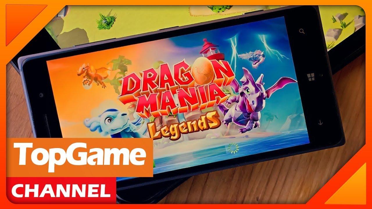 [Topgame] Dragon Mania Legends – thế giới của những loài rồng đến từ Gameloft