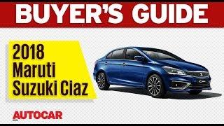 2018 Maruti Suzuki Ciaz   Which Variant to Buy   Autocar India