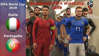 Italia Vs Portogallo • FIFA World Cup 2018 (Scoreboard) • PES 2019 Patch [Giù]