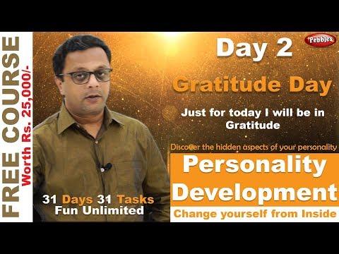 best-personal-development-course-||-self-improvement-||-hindi-video-||-gratitude-day-||-day-2
