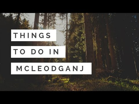 Things To Do In Mcleodganj   Dharamsala  
