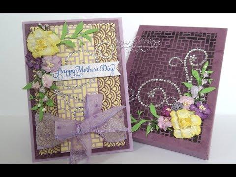 Card Making Magic Mothers Day Card & Matching Box
