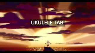 "Hercules ""I Can Go The Distance"" - Ukulele Tab"