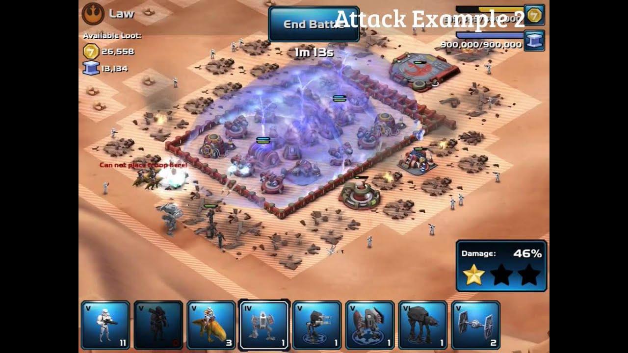 Star Wars: Commander - Win Tough Bases (Pro Strategies)
