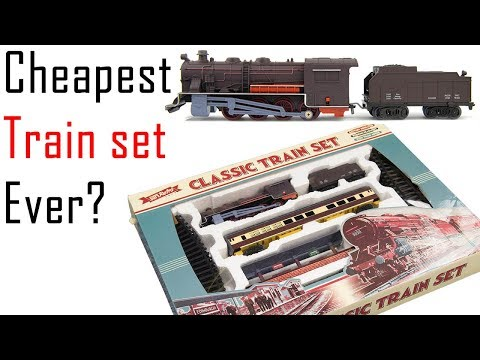Unboxing the Cheapest Train Set Ever?