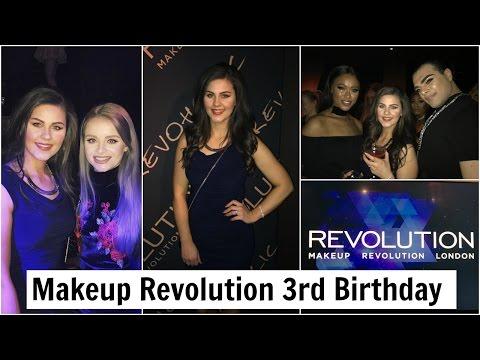 VLOG: Makeup Revolution Party in London