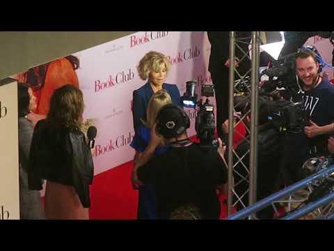 Jane Fonda Special Guest At Event Cinemas  In Bondi For Screening Of Book Club