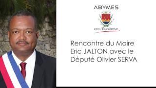 Le Maire Eric JALTON rencontre le Député Olivier SERVA