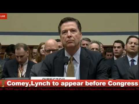 FBI Director James Comey Appears Before Congress Over Clinton Emails {7-7-16}