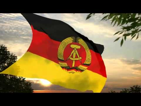 Flag and anthem of the German Democratic Republic