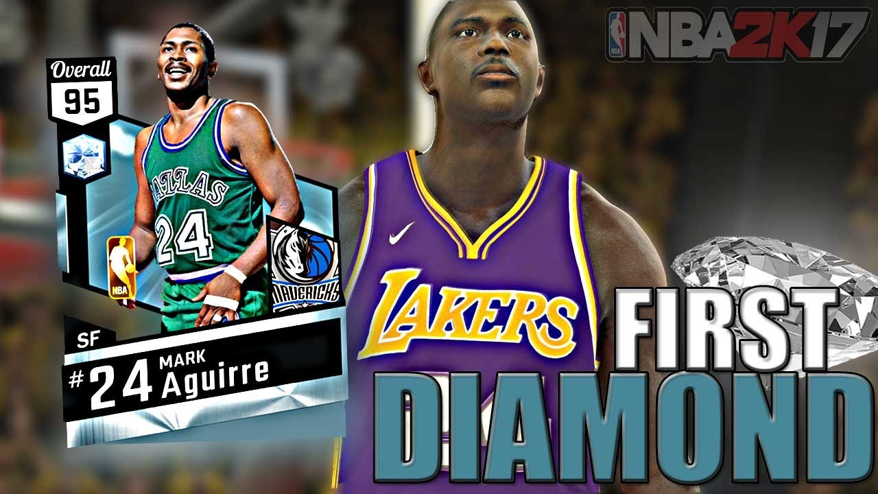 Diamond Mark Aguirre First Diamond Player