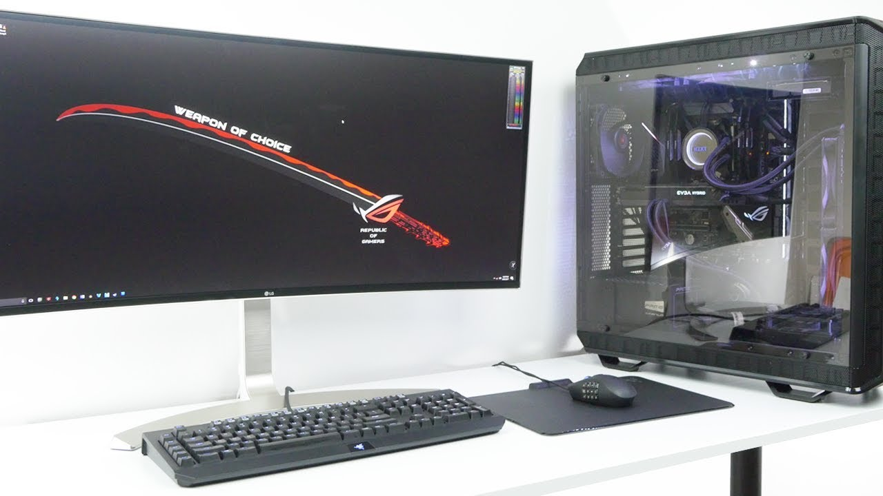 The Ultimate AMD Threadripper 1950x Video Editing/Gaming PC Build!
