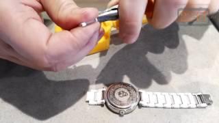 Как укоротить керамический браслет часов