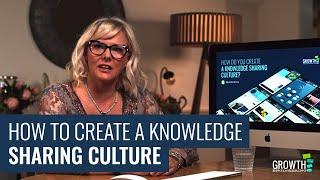 Erstellen einer Knowledge-Sharing-Kultur
