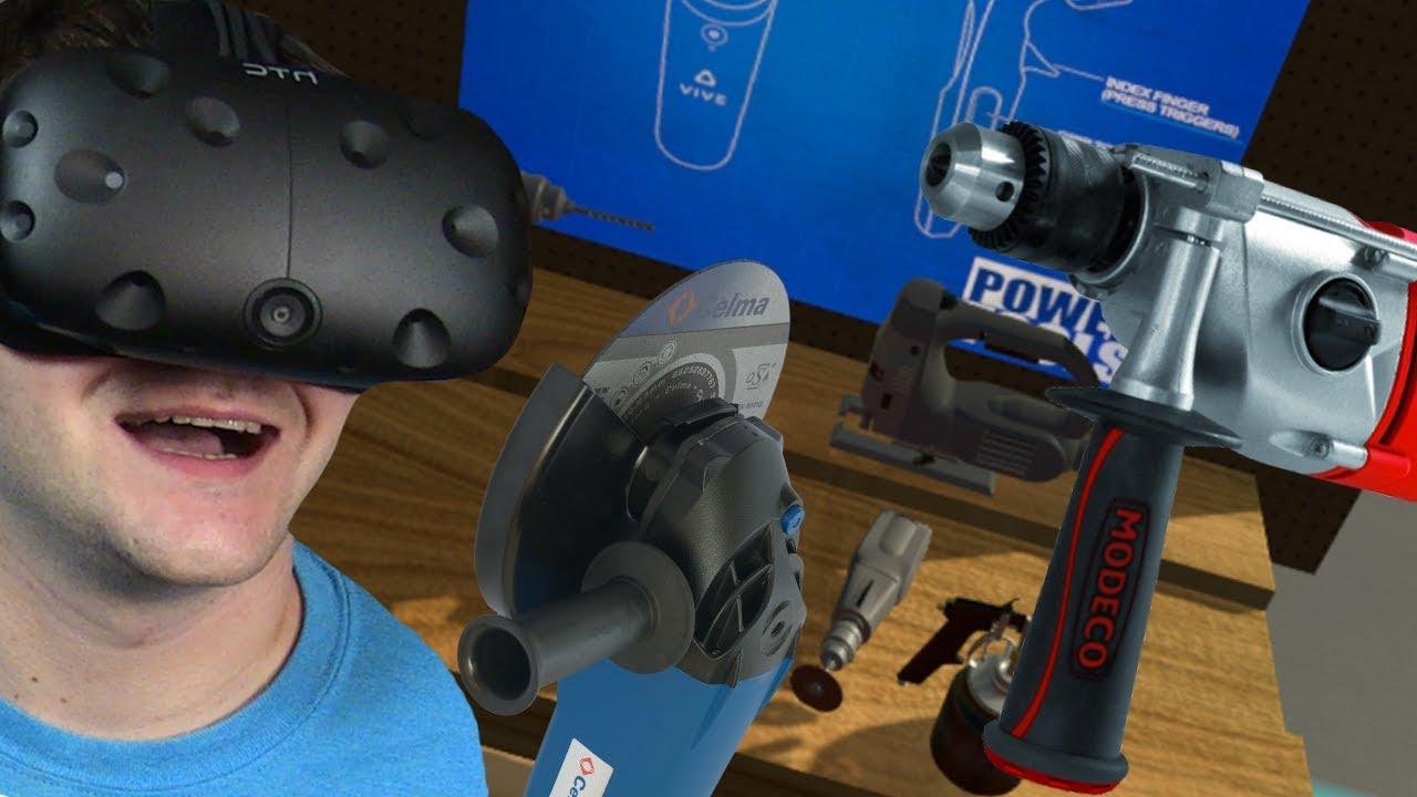 PRACA NA BUDOWIE – Power Tools VR (HTC VIVE VR)