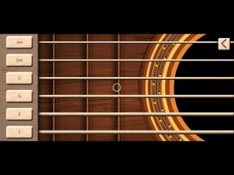 Реальная гитара симулятор (обзор на андроид)