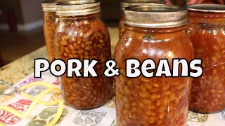 How to Home Can Pork & Beans
