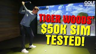 WE TEST TIGER WOODS' $50K HOME SIMULATOR!