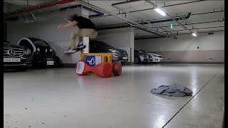 #스케이트보드 #알리 주차금지&장애인 주차금지 …