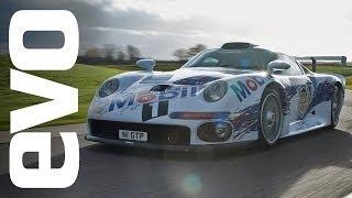 Porsche 911 GT1 driven | INSIDE evo
