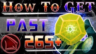 Destiny 2: How To Get Past 265 Power Level Fast and Exotic Engrams