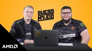 "AMD Presents ""Guess My elo"" with Fnatic Rainbow Six Siege"