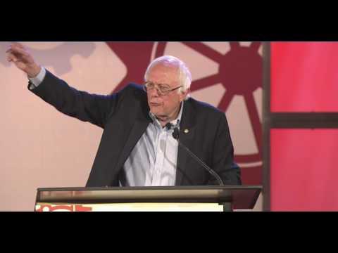 Bernie Sanders Destroys Trump At The People