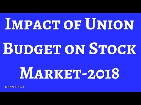 Impact of Historical Union Budgets on Stock Market- Nifty 2018