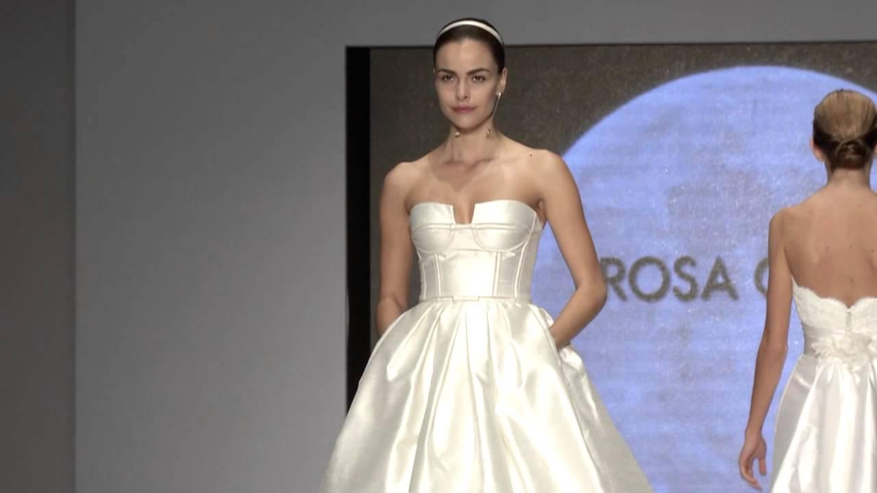 42f0fbfab5 Miami Fashion Week  Colección Novias Rosa Clará 2014 - YouTube