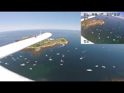 The Islands with Link footage and natural sound....Flown with Dragon Link