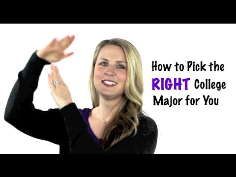 Youth Speaker Amanda Hammett How to Choose the RIGHT College Major