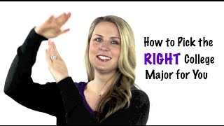Youth Speaker Amanda Hammett | How to Choose the RIGHT College Major for You!