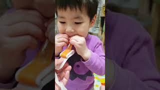 [구남매] 테이프젤리 먹방