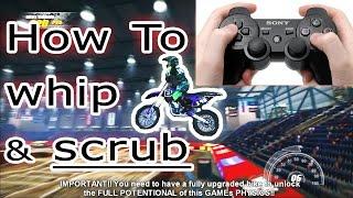 How to properly Scrub & Whip! - MX vs ATV: Supercross.. +Best Motocross Games 2015