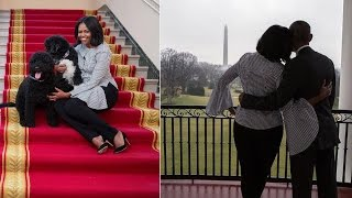 Michelle Obama Says Goodbye To The White House In Touching Social Media Photos