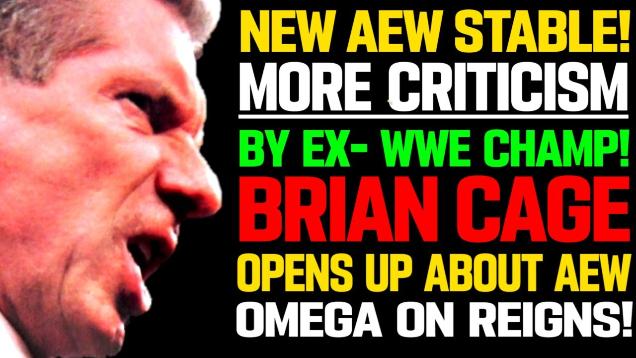 WWE News! WWE On NXT Contracts! More Criticism On WWE! New AEW Stable! Brian Cage Opens Up! AEW News