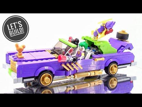 LEGO THE BATMAN MOVIE: The Joker Notorious Lowrider 70906 - Let's Build!