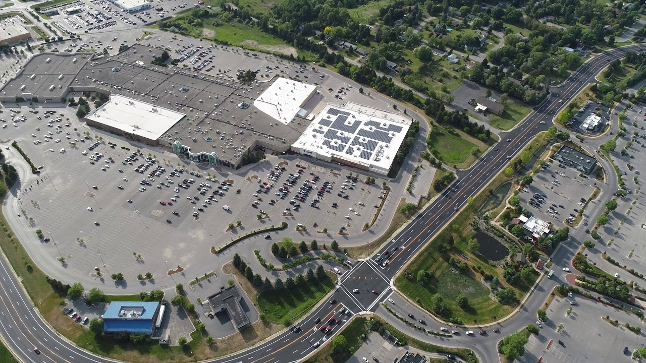 Drone View Grand Traverse Mall Planet Fitness Home Depot Emerald