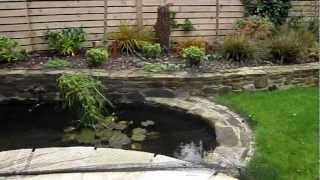 Raheny Landscaping Garden Design And Waterfeature. Pond, Waterfall And Bog
