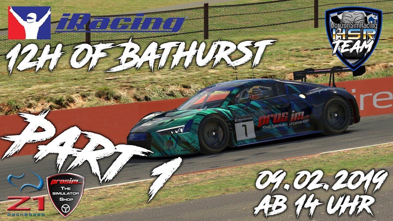 IRacing - 12h of Bathurst - Team Horizon Sim Racing - Part 1