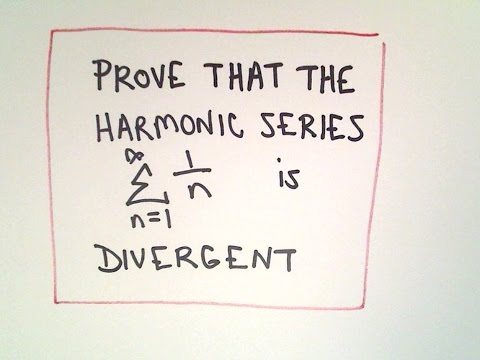 Show the Harmonic Series is Divergent