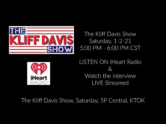 The Kliff Davis Show (iHeart Radio/KTOK) Interview Feed w/ Stoney LaRue
