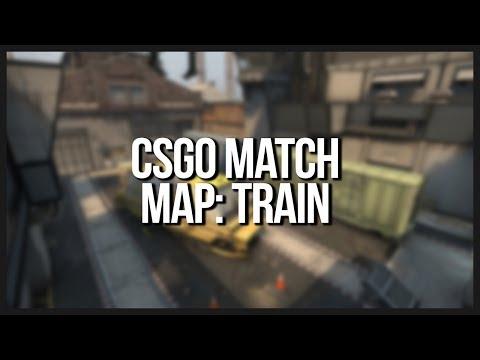 CSGO - ESEA Match on Train