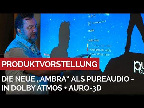 """""""AMBRA - Sign of Life"""" - erstmalig in Auro3D und Dolby Atmos veröffentlicht - #PureAudio #Grobitv"""