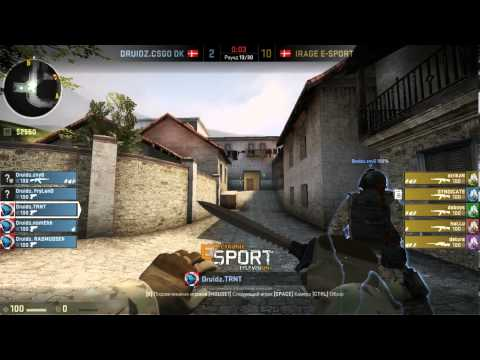 Copenhagen Games. Druidz vs IRAGE E-Sport