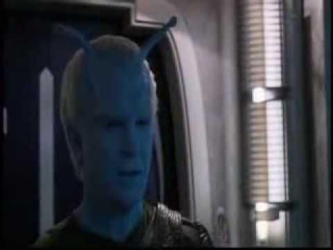 Gary Graham as Soval in Kirshara