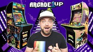 NEW Arcade1Up REVEALED - NINJA TURTLES AND MARVEL!